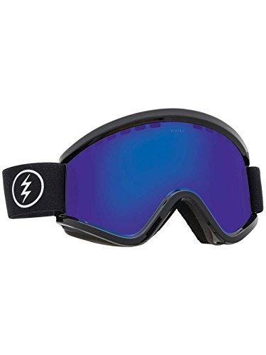 - Electric EGV Snow Goggles Gloss Black With Brose Blue Chrome Lens