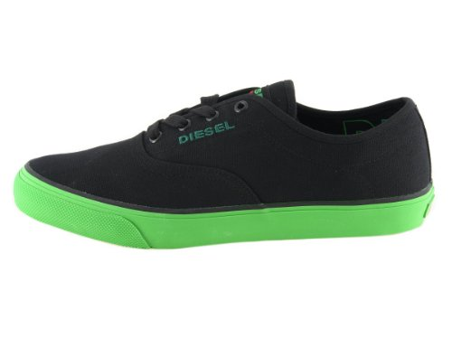 Diesel Herren Sneaker Schnürschuhe Schuhe Schwarz #29