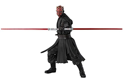 SH Figuarts Star Wars Darth Maul (Episode I) About 140mm ABS u0026 PVC Painted Action Figure by Bandai