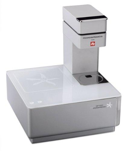 Illy Caffe Y1.1 216621 Touch Espresso Machine, White