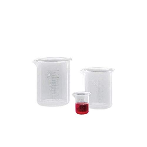 mis /Ø 87 x 119 H mm capacit/à 500 ml Becher da laboratorio graduato forma bassa in PP