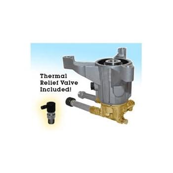 Annovi Reverberi 2800 Psi Pressure Washer Pump Annovi Reverberi RMW2.5G28EZ 2.5 GPM with Thermal Relief Protection Valve 2800 psi