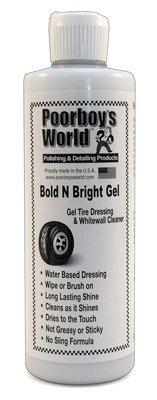 Poorboy's World Bold 'N Bright Tire Dressing Gel 16 oz. Poorboy' s World PB-BNBG16