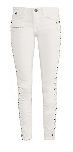 Zhrill - Jeans - Donna W141 - Lace White