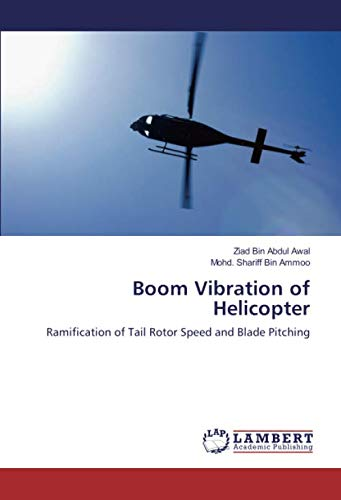 Boom Vibration of Helicopter: Ramification of Tail Rotor Speed and Blade Pitching
