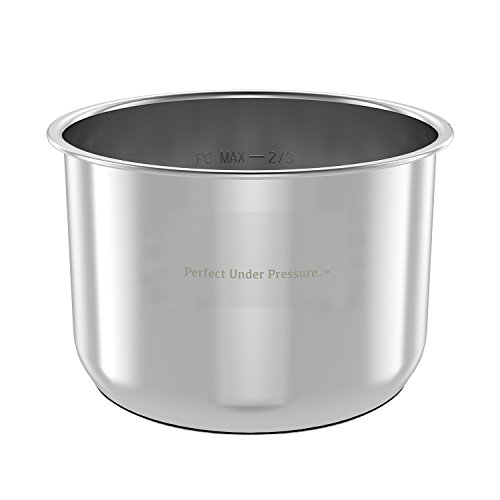 Inner Cooking Pot for Instant Pot, Stainless Steel by Yedi Houseware - 6 Quart