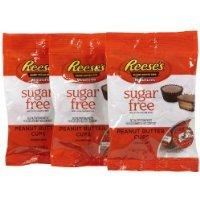 Reese's Sugar Free Peanut Butter Cup Miniatures Peg Bag, 3 o