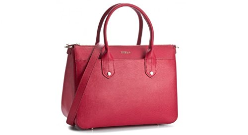 Mediterranea Furla red medium hand bag wAxXOpqxT