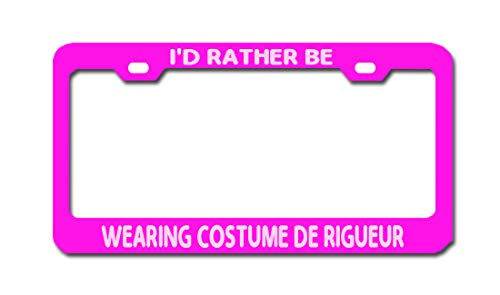 I'd Rather BE Wearing Costume DE RIGUEUR