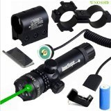 WNOSH Green 532nm Laser Sight Hunting Rifle Dot Scope with On/off Swith Picatinny/weaver Mounts With Barrel Mount Battery Charger Include