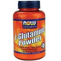 L-Glutamine, PURE POWDER, 6 OZ by Now Foods by NOW (Now Foods L-glutamine Powder)