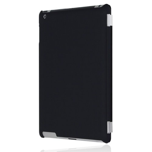 Incipio iPad 2 Smart Feather - Back Cover Only - Ultralight Hard Shell Case - Black