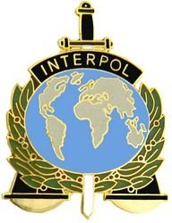 Amazon.com: Interpol Emblem Badge: Clothing