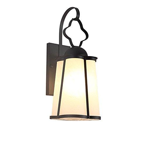 Lampada da Parete Applique da Parete LED Scala balcone lampada da parete lampada da parete esterna esterna impermeabile giardino lampada creativa retro corridoio esterno lampada da terra (14F4)
