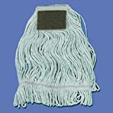 UNS902BL - Looped Mop Head With Scrub Pad Medium