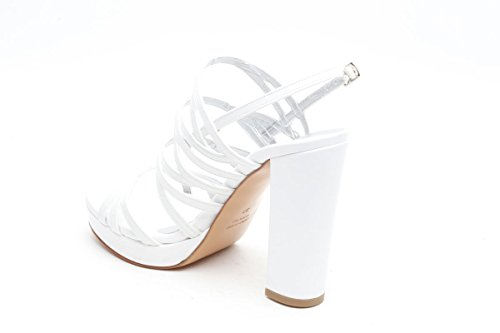 L amour sandali in pelle bianco