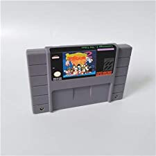 Game card - Game Cartridge 16 Bit SNES , Game Lemmings 2 - The Tribes - RPG Game Card US Version English Language