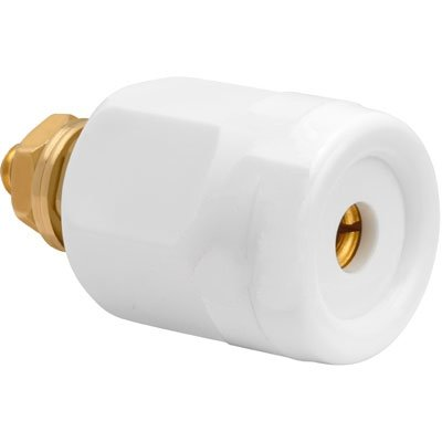 Electrical; Socket Receptacle; 0.16 in.; 0.81 in.; 0.19 in.; White; Connector Superior Electric RS25GWT