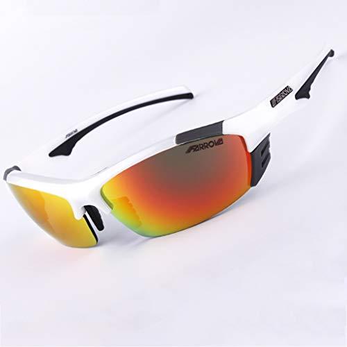 de polarizadas Gafas Mujer Ajuste Espejo Prueba para CS a Campo de Gafas B de de Color Balas SX o Gafas Motocicleta Deportivas Viento a Sol Hombre C Prueba CHENG w4qAUx165Y
