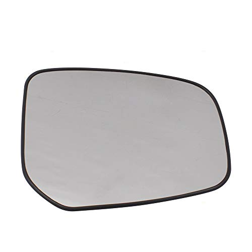 Passengers Side Mirror Glass & Base Replacement for 14-18 Mitsubishi Mirage 17-18 Mirage G4 5651 7632B600