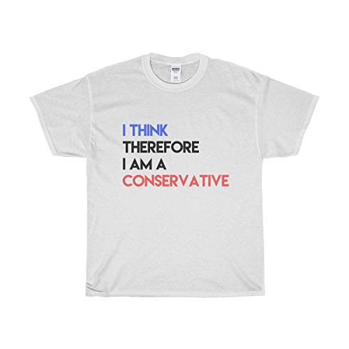 Funny Conservative Novelty T-Shirt - I AM Conservative T-Shirt - Perfect for Republicans | Men & Women - Unisex