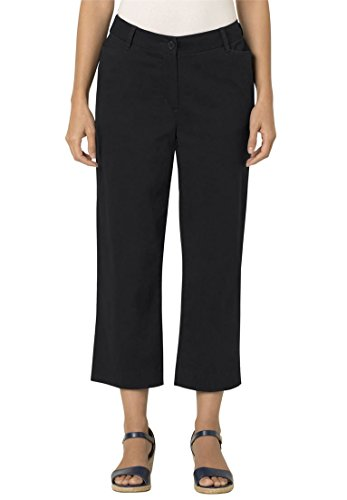Womens Petite Modern Fit Cropped Chinos