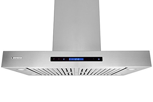 XtremeAir Pro-X Series PX06-I36, 36'' Wide, Easy Clean swing-able baffle Filters, Stainless Steel, Island Mount Range Hood by XtremeAIR (Image #2)