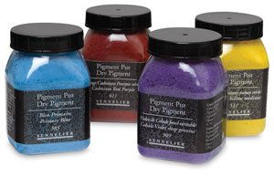 Sennelier Dry Pigment 175ml Jar - Sennelier Artist Dry Pigment 175 ml Jar - Lemon Yellow