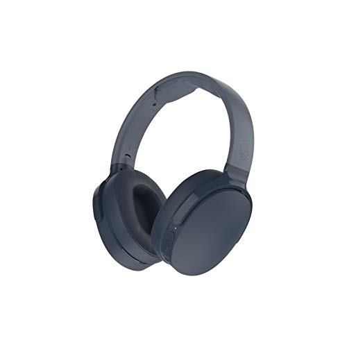 Skullcandy Hesh 3 Bluetooth Wireless Over-Ear Headphones with Microphone, Rapid Charge 22-Hour Battery, Foldable, Memory Foam Ear Cushions for Comfortable All-Day Fit, Blue by Skullcandy