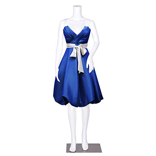 (Giantex Headless Female Mannequin Plastic Realistic Display Dress Form Full w/Base White)