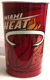 Miami Heat 15 inch Waste Basket by WinCraft