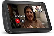 Echo Show 8 (1st Gen, 2019 release) -- HD smart display with Alexa – Unlimited Cloud Photo Storage – Digital P