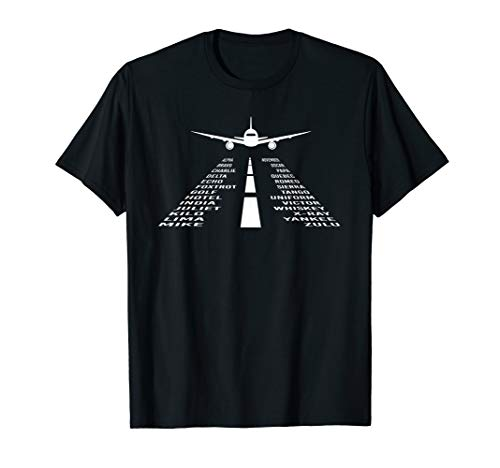 Phonetic Alphabet T-Shirt | Pilot Airplane Shirt