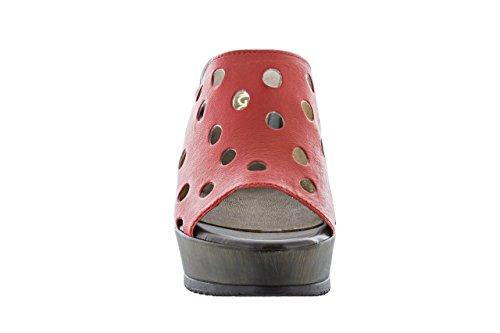 Zueco Pala SALMAGODI Mujer 170-4410 Rojo