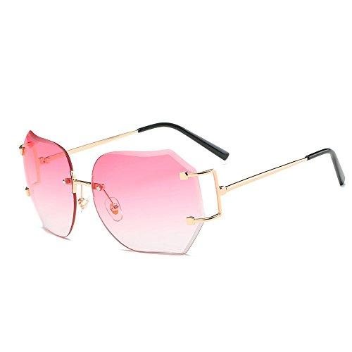 Lunettes De Soleil Covermason Hommes femmes lentille transparente verres Spectacle Metal Frame myopie lunettes Lunette Femme lunettes (violet) 1502ylV8
