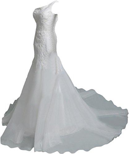 TOSKANA BRAUT -  Vestito  - linea ad a - Donna bianco 42