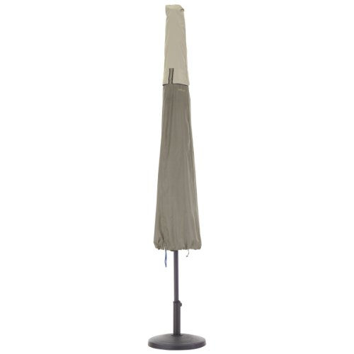 Classic Accessories 55-272-011001-00 Belltown Outdoor Patio Umbrella Cover, ()