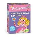 Peaceable Kingdom Princess Match Up Game and Puzzle Board Game