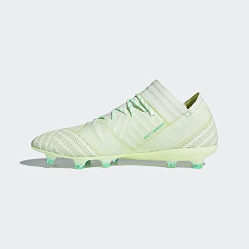 adidas Mens Nemeziz 17.1 Firm Ground Soccer Cleats - Green - Size 11.5 D 7
