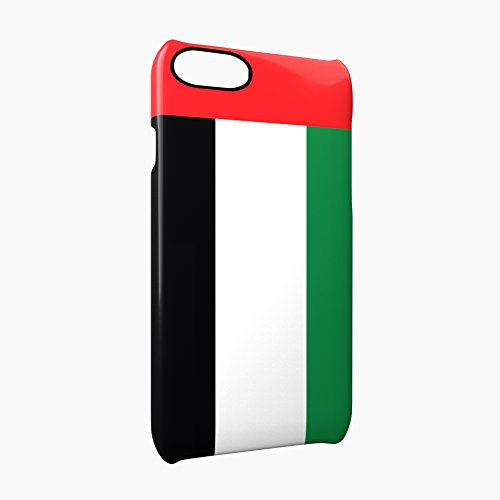 Flag of United Arab Emirates Glossy Hard Snap-On Protective iPhone 7 Plus + Case Cover
