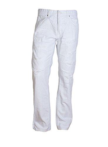 Jordan Craig Ripoff Slub White Jeans (36x34) by Jordan Craig