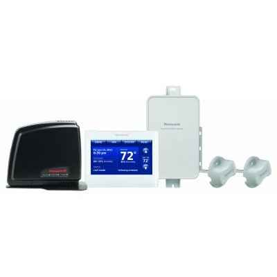 Honeywell Prestige 2- Wire IAQ Kit with high definition color touchscreen white front/white sides thermostat with RedLINK technology- Color - YTHX9421R5085WG/U YTHX9421R5127WW-c1 (Honeywell Prestige Kit)
