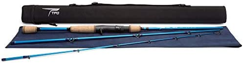 TFO Traveler 3 Piece Spinning Rods with Case IM Carbon Fiber