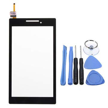 Tablet Accessories Tablet Parts - Touch Screen Digitizer Glass Lens Tablet Parts For Tab 2 A7-20F Black