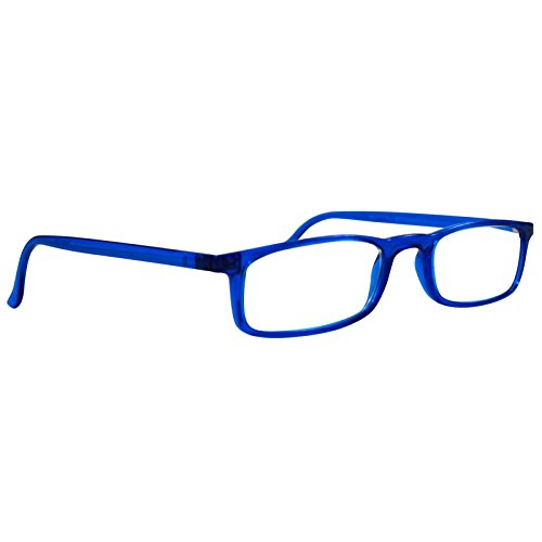 Reading Glasses Nannini Optics Vision Care Italian Fashion Readers - Blue - Italian Glasses