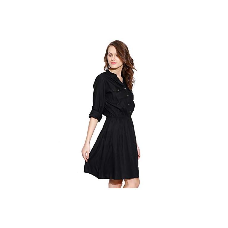 31WXwBKnn6L. SS768  - Amayra Women's Knee Length Dress.