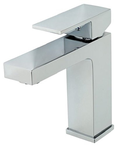 Ultra Faucets UF30200 Single - Handle Short Vessel Lavatory Faucet - Icon Collection, Chrome Finish