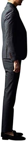 スーツ メンズ スリーピース チェック 2つボタン ビジネス 紳士 M~5XL