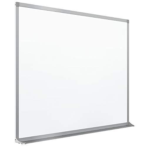 Quartet Magnetic Whiteboard, Porcelain, White Board, Dry Erase Board, 4' x 6', Aluminum Frame (PPA406) ()