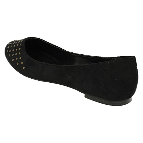 Microfibra Ladies Slip Spot Pantofola On Nera Xqz1XOw